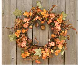 Harvest Garden Wreath