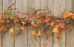 Flower & Pumpkin Garden Garland