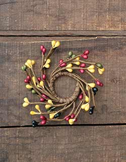 Country Kitchen Adjustable Mini Candle Ring