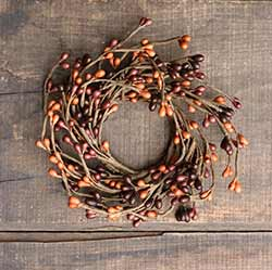 Tuscan Sunset Pip Berry 2.25 inch Candle Ring