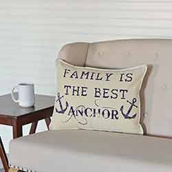 Family Anchor Pillow (14x18)