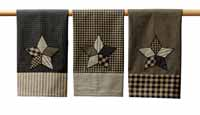 Farmhouse Star Tea Towels (Set of 3)