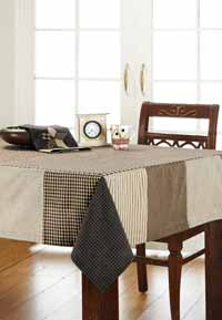 Farmhouse Star Tablecloth, 60 x 80