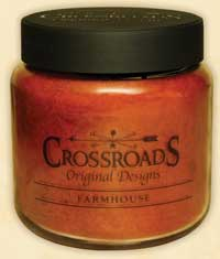 Crossroads Originals Farmhouse Jar Candle - 16 ounce