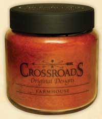 Crossroads Originals Farmhouse Jar Candle - 16 ounce