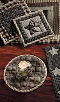 Farmhouse Star Trivets (Set of 3)