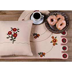 Flower Go Round Table Runner