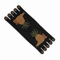 Folk Art Pineapple Table Runner