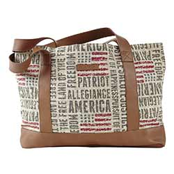 Freedom Simple Tote Bag
