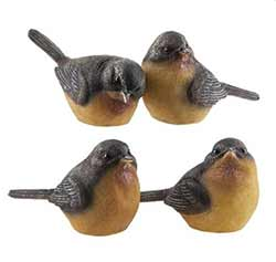 Robin Bird Figurine - Small