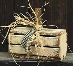 Primitive Crate Pumpkin - Ivory