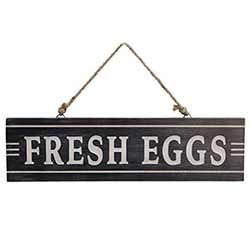 Fresh Eggs Wooden Sign