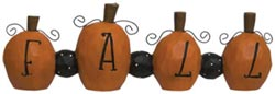 CWI Fall Pumpkins Block with Beads