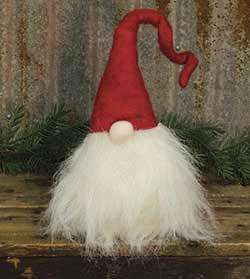 Big Beard Gnome Doll with Red Hat