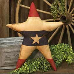 Americana Star Pillow