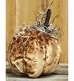 Grungy Primitive Tan Pumpkin