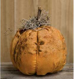 Grungy Primitive Orange Pumpkin