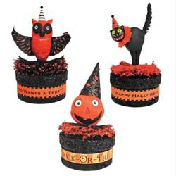 Glitterville Halloween Favor Box
