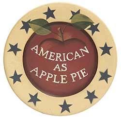 American as Apple Pie Plate