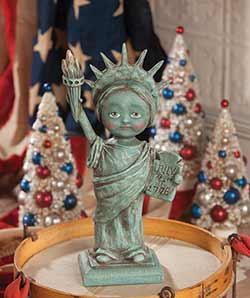 Little Miss Liberty Figurine