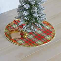 HO HO Holiday Mini 21 inch Tree Skirt