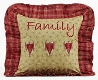 Heartland Family Pillow