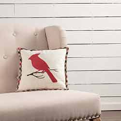 Hollis Cardinal Pillow (12x12)