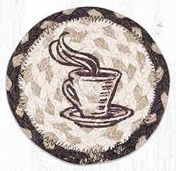 One Good Cup Braided Coaster