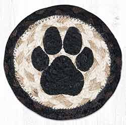 Dog Paw Braided Coaster