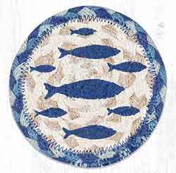Fish Braided Coaster