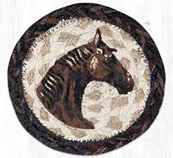 Horse Braided Coaster