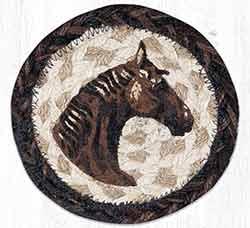 Horse Braided Coaster