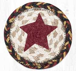 Primitive Star Braided Coaster