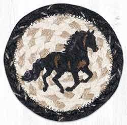Stallion Braided Coaster