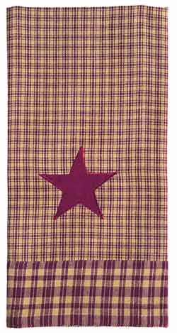 Vintage Star Wine Dishtowel
