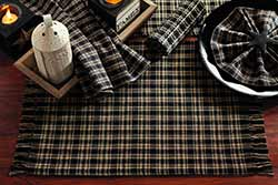 Cambridge Black 36 inch Table Runner