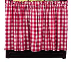 Picnic Red Check 36 inch Tiers