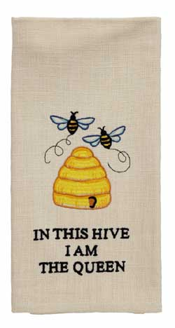 I Am The Queen Accessory Dishtowel