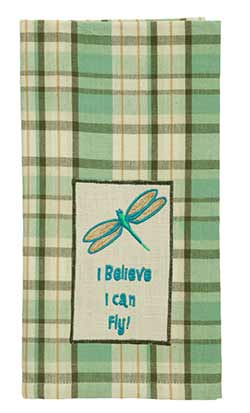 Dragonfly Dishtowel