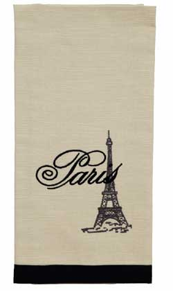 French Postcard Dishtowels (Set of 2)