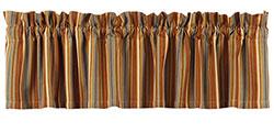 Cordwood Striped Valance