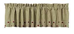 Market Street (formerly IHF - India Home Fashions) Apple Valley Valance