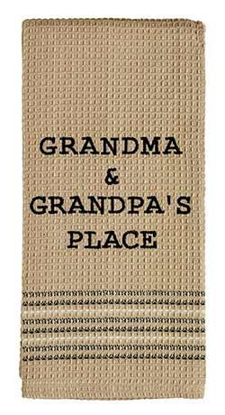 Grandma & Grandpa Dishtowels (Set of 2)