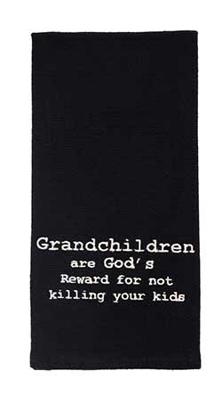 Grandchildren Dishtowels (Set of 2)