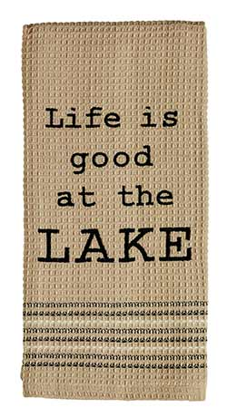 At the Lake Dishtowel