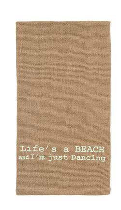 Life's a Beach Dishtowel