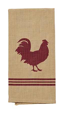 Red Rooster Dishtowel