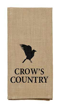 Crow's Country Dishtowel