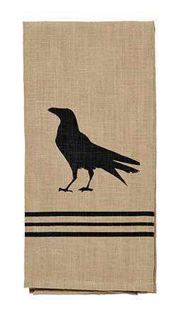 Olde Crow Dishtowel