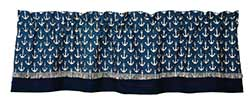 Market Street (formerly IHF - India Home Fashions) Maritime Nautical Valance